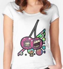 5 a day part one Women's Fitted Scoop T-Shirt