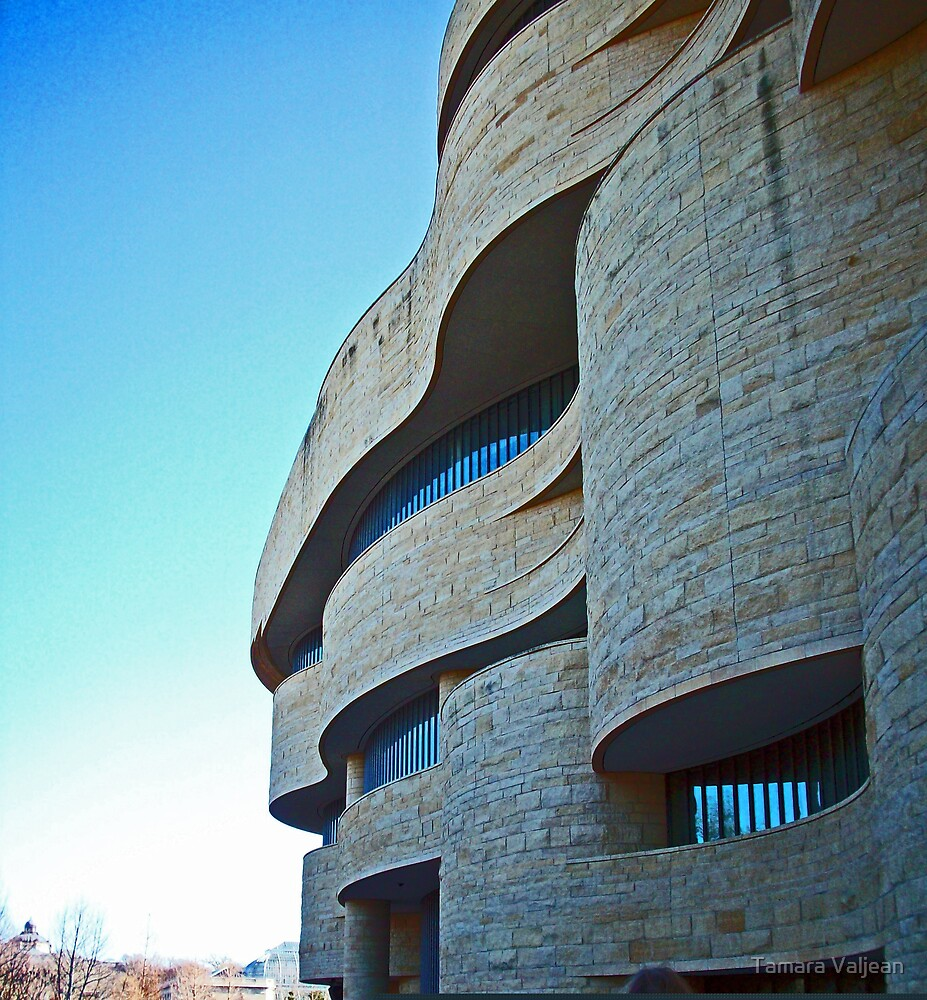 National Museum of the American Indian by Tamara Valjean