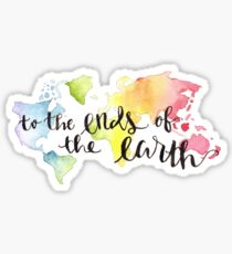 Christliche Missionen, christliches Zitat Sticker