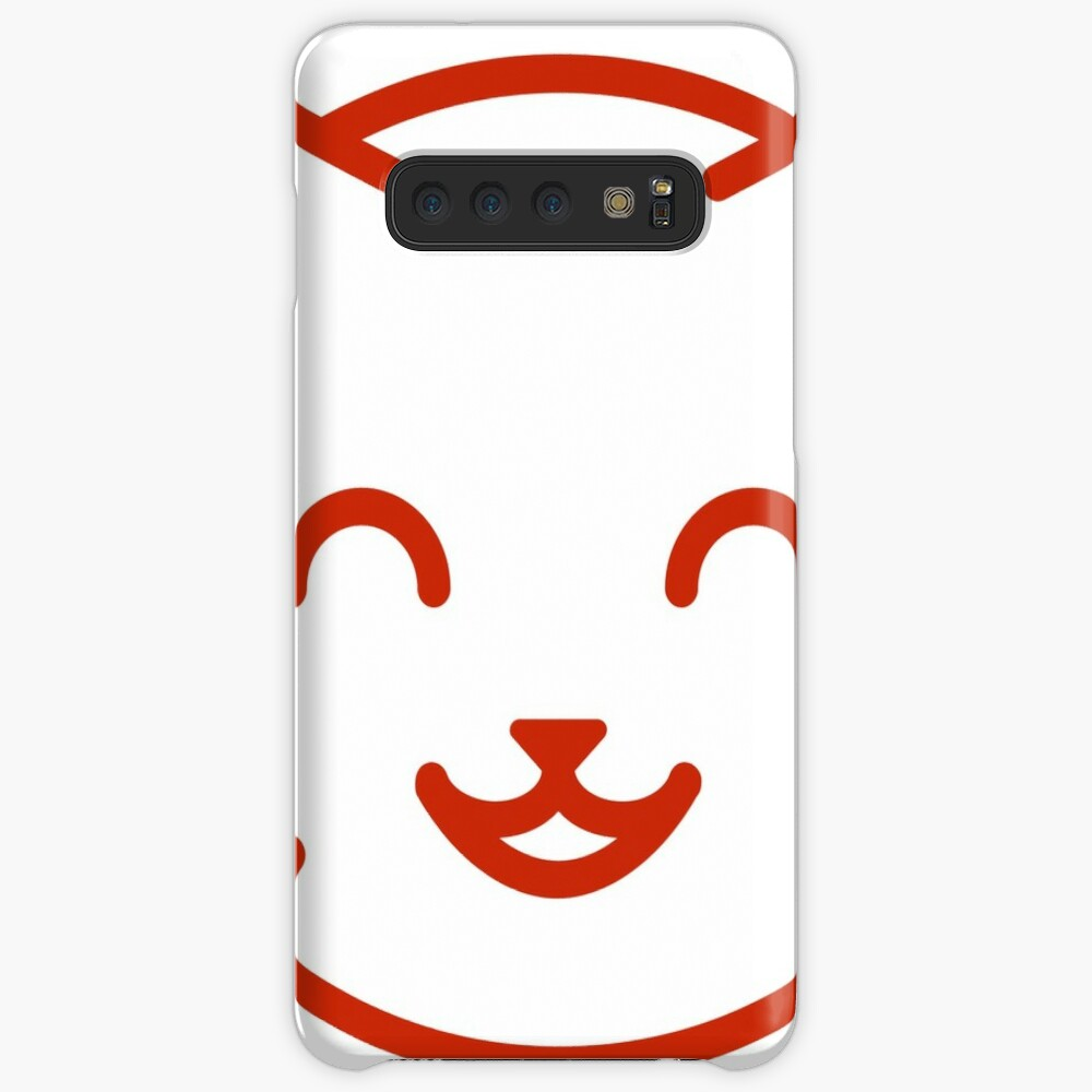 relax kitty Case & Skin for Samsung Galaxy