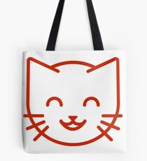 relax kitty Tote Bag