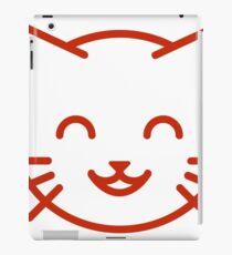 relax kitty iPad Case/Skin