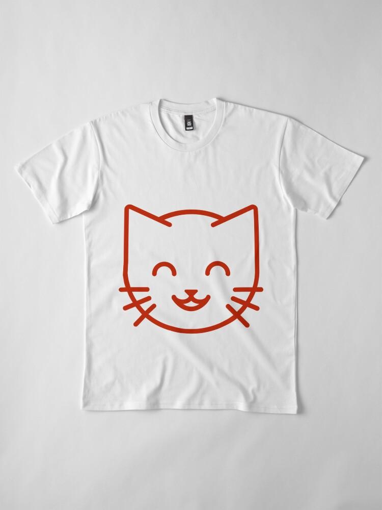 Alternate view of relax kitty Premium T-Shirt