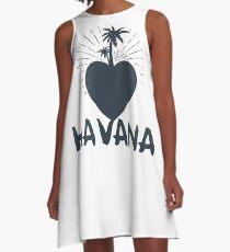 My Heart In Havana A-Line Dress
