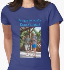 HUMOUR POISSON MER Women's Fitted T-Shirt