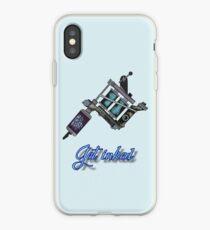 Get Inked! (Cool tones) iPhone Case