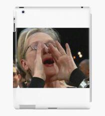 Meryl Streep Shouting Lyrics Meme 2018 iPad Case/Skin