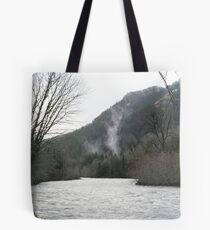 """Elwha River Flood"" Tote Bag"