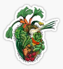 Vegetables Are Good For Your Heart Sticker
