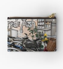 Street Art and Bicycles Studio Pouch