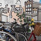 Street Art and Bicycles by Deborah McGrath