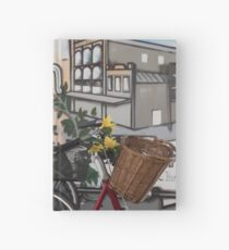Street Art and Bicycles Hardcover Journal