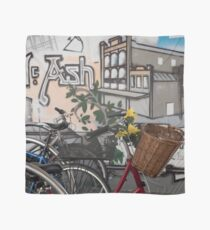 Street Art and Bicycles Scarf