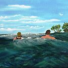 Takin' A Dip by WhiteDove Studio kj gordon