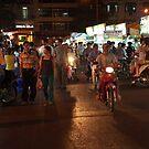 Ben Thanh Market at Night by Daryl Davis