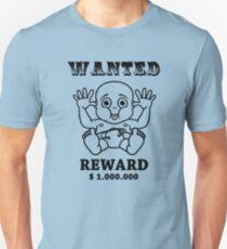 wanted reward 1.000.000 Unisex T-Shirt