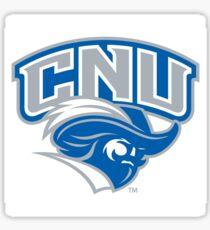 CNU Captains Logo Sticker