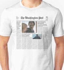 7 Days Later - The Washington Post Unisex T-Shirt