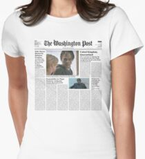 7 Days Later - The Washington Post Women's Fitted T-Shirt