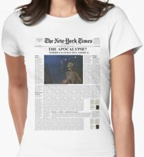 7 Days Later - The New York TImes Women's Fitted T-Shirt