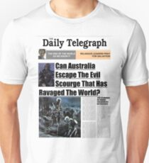 7 Days Later - The Daily Telegraph Unisex T-Shirt