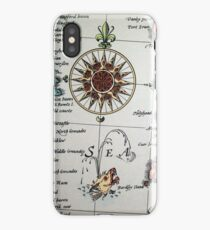 Sea / Compass iPhone Case