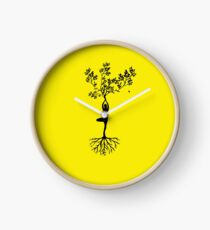 YOGA POSE Clock
