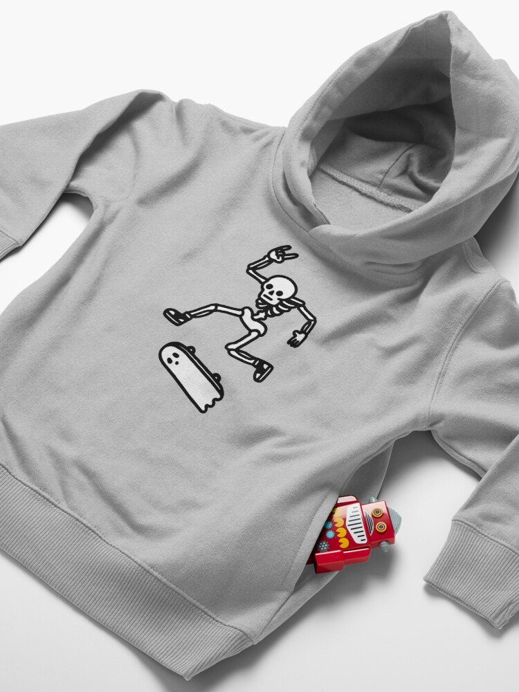Alternate view of Rad In Peace Toddler Pullover Hoodie