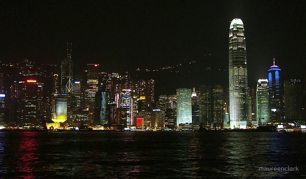 Hong Kong Lights by maureenclark