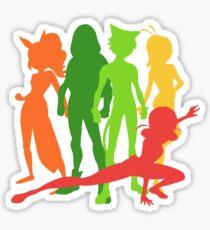 Miraculous Team Sticker
