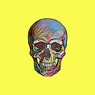 The Happy Skull (Yellow) by Diego-t