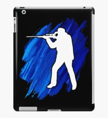 Awesome Shooting t shirt gift. iPad Case/Skin