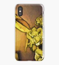Yellow Flowers and White Roses 1 iPhone Case/Skin