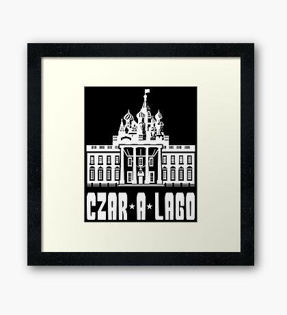 Czar A Lago Framed Print