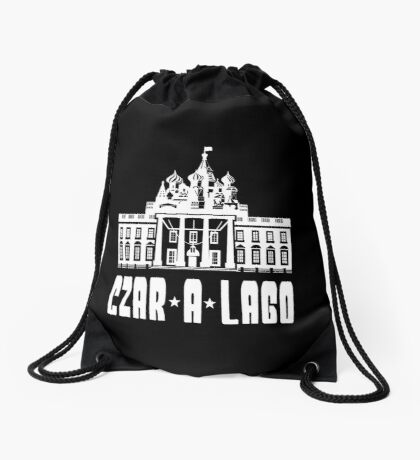 Czar A Lago Drawstring Bag