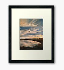 Shoals of Cape Fear Framed Print