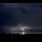 Lightning in Evening by Paul Cotelli