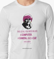 Agnès Varda, le bonheur Long Sleeve T-Shirt