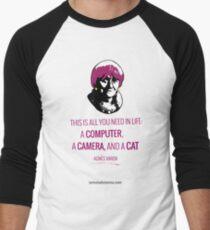 Agnès Varda, le bonheur Men's Baseball ¾ T-Shirt