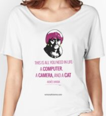 Agnès Varda, le bonheur Women's Relaxed Fit T-Shirt
