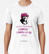 Agnès Varda, le bonheur Men's Premium T-Shirt