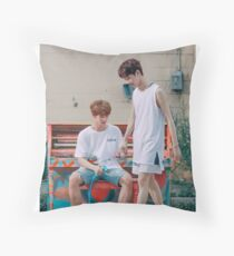 guanlin + jinyoung - to be one Throw Pillow