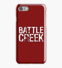 Battle Creek - White iPhone Case/Skin