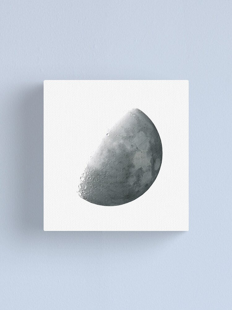 Alternate view of THE MOON INVERTED Canvas Print