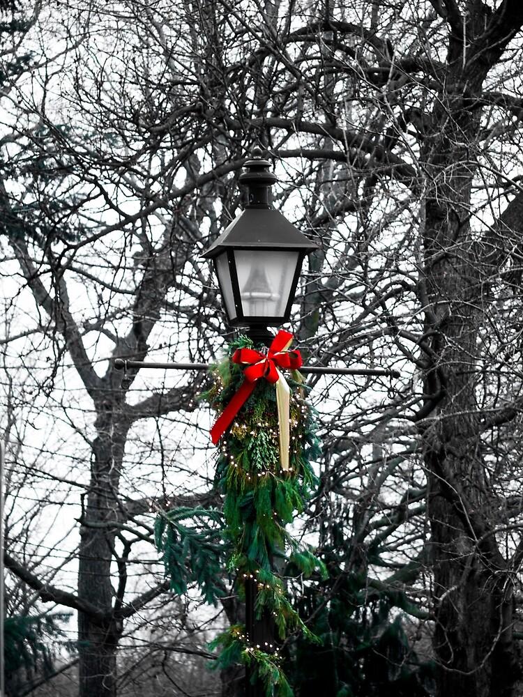 Christmas Lamp Post by Rae Tucker