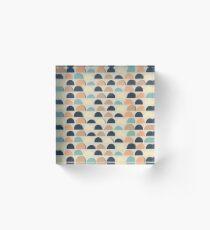Estampado doodle Acrylic Block