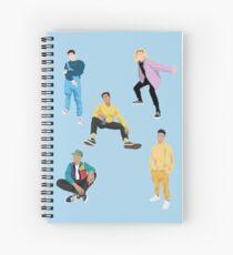 PRETTY MUCH ALL MEMBERS NOTEBOOKS Spiral Notebook