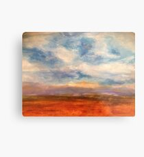 Fields of Northern France Metal Print