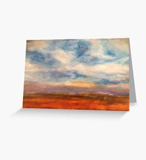 Fields of Northern France Greeting Card