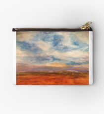 Fields of Northern France Zipper Pouch